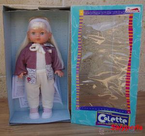 Preciosa muñeca Colette de Jesmar a estrenar. Parlante y