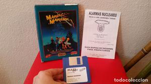 RARO JUEGO PC MANIAC MANSION LUCASFILM 16 BITS  MAXI