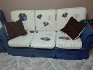 Sofa cama mas sillon orejero