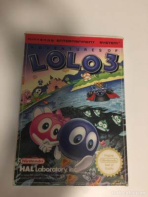 The Adventures of Lolo 3 NES PAL completo
