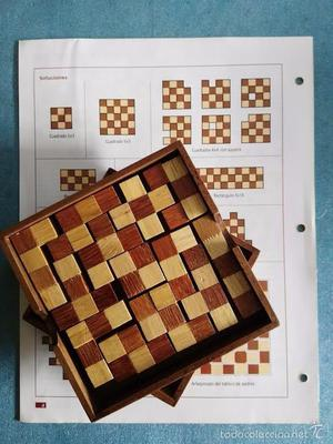 juegos de ingenio policubos en blanco y negro - RBA FABBRI