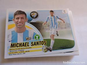 16 Michael Santos - Malaga - Liga  Nuevo Logo