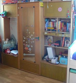 Armario 3 modulos mueble muebles ropero sevilla posot class - Armarios por modulos ...
