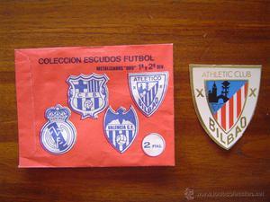 ATHLETIC CLUB DE BILBAO - ESCUDO METALIZADO TROQUELADO y