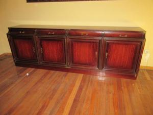 Artesanato Lata De Leite Condensado ~ Aparador madera color wengue con balda interior Posot Class