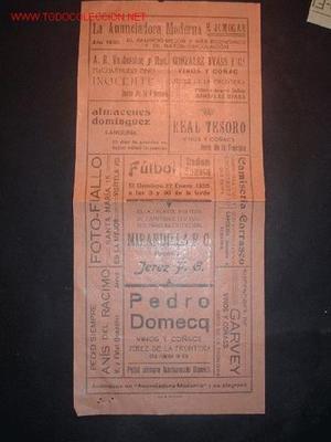 CARTELITO DE ANUNCIO DEPORTIVO EN EL STADIUM DOMECQ FUTBOL