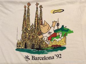 Camiseta Olimpiadas Barcelona 82