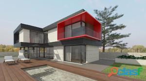 Casa unifamiliar de nueva construcción.