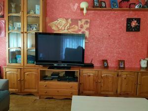 Muebles con estanterias mesa y cajonera madrid posot class for Conjunto muebles salon