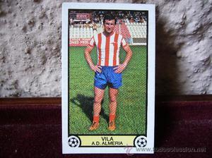 Cromo ediciones Este - Liga  - A.D. Almeria -