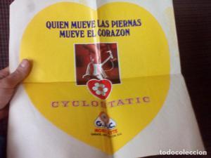 Gran pegatina,CYCLOSTATIC de G.A.C. GAC.MOBYLETTE.