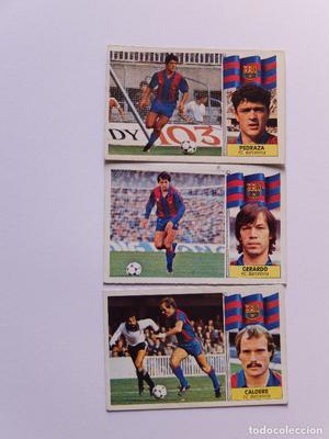 LOTE 3 CROMOS DEL FC BARCELONA TEMPORADA  EDICIONES