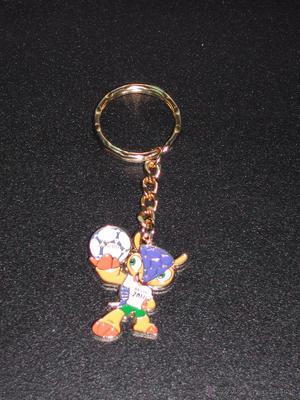 Llavero FULECO, la mascota del MUNDIAL DE FUTBOL BRASIL