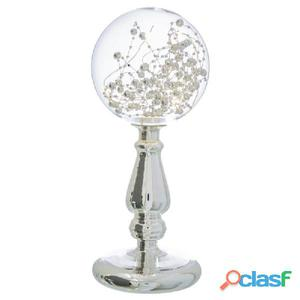Lámpara globo cristal 12x11x28cm