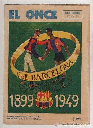 (M-ALB1) FC BARCELONA - EL ONCE FC BARCELONA ,