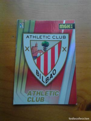 Mega Cracks  núm. 1 escudo Athletic Club.