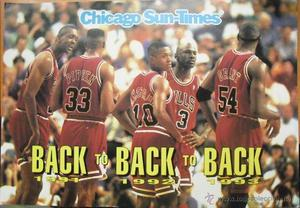 Michael Jordan & Chicago Bulls - Póster de  -