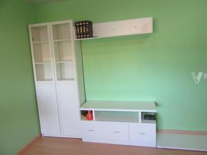 Mueble blanco de fondo reducido valencia posot class for Mueble modular blanco
