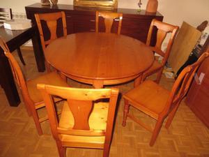 Muebles de salon completo mesa sillas huelva posot class for Muebles de salon completos