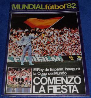Mundial de Futbol 82 nº 7 - Revista Comité Organizador -