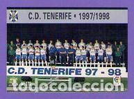 Nº 170 ÍNDICE CHECK LIST PLANTILLA ALINEACIÓN CD TENERIFE