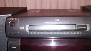Se vende minicadena sony mhc-551