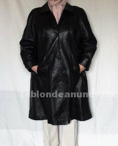 Vendo abrigo mujer de piel