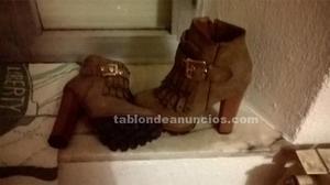Vendo botas de tacón de la talla