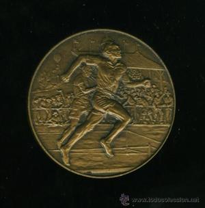 medalla de atletismo antigua