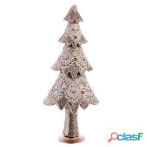 Árbol decorada puntilla polyfoam 58cm