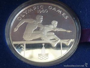 10 Dolares de Samoa y Sisifo , PLATA pesa 31,3 gramos,