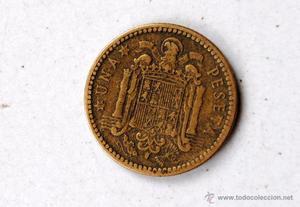 10 monedas de peseta  estrella