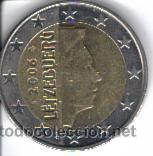 2 euros de luxemburgo del año