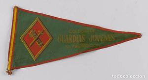 Antiguo Banderín de La Guardia Civil, Guardias Jovenes,