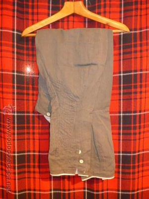 Antiguo pantalon original de carabineros de la republica,