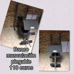 BANCO DE MUSCULACIÓN