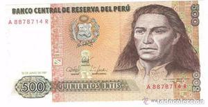 BILLETE DE PERU,  INTIS (LOTE 2)