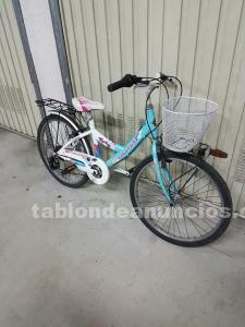 Bicicleta orbea de niña 24 pulgadas