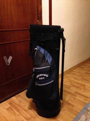 Bolsa de golf transportable y bolsa dispensadora