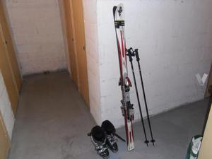 Equipo de esqui de mujer