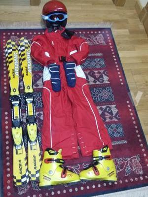 Equipo esqui infantil