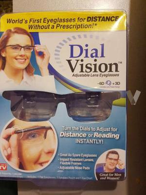 GAFAS DIAL VISION NUEVAS
