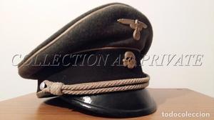 GORRA ALEMANA // WAFFEN SS // WW2 // TERCER REICH // RZM //
