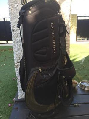 Golf. palos +bolsa+ carro