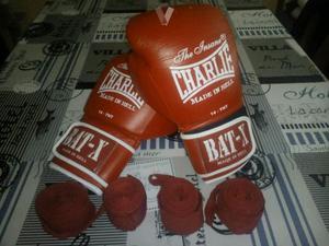 Guantes boxeo charlie BAT-X 14 onzas