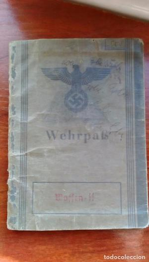 HITLERJUGEND 12 SS PANZER WEHRPAS SOLDADO DE 17 AÑOS
