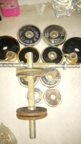 Juego de pesas
