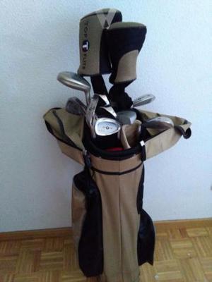 Juego palos de golf mujer