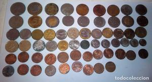 Lote de monedas distintas épocas y nacionalidades