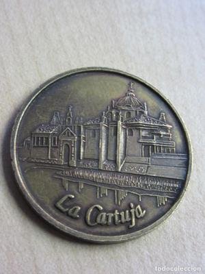 Medalla de la EXPO SEVILLA 92 La Cartuja